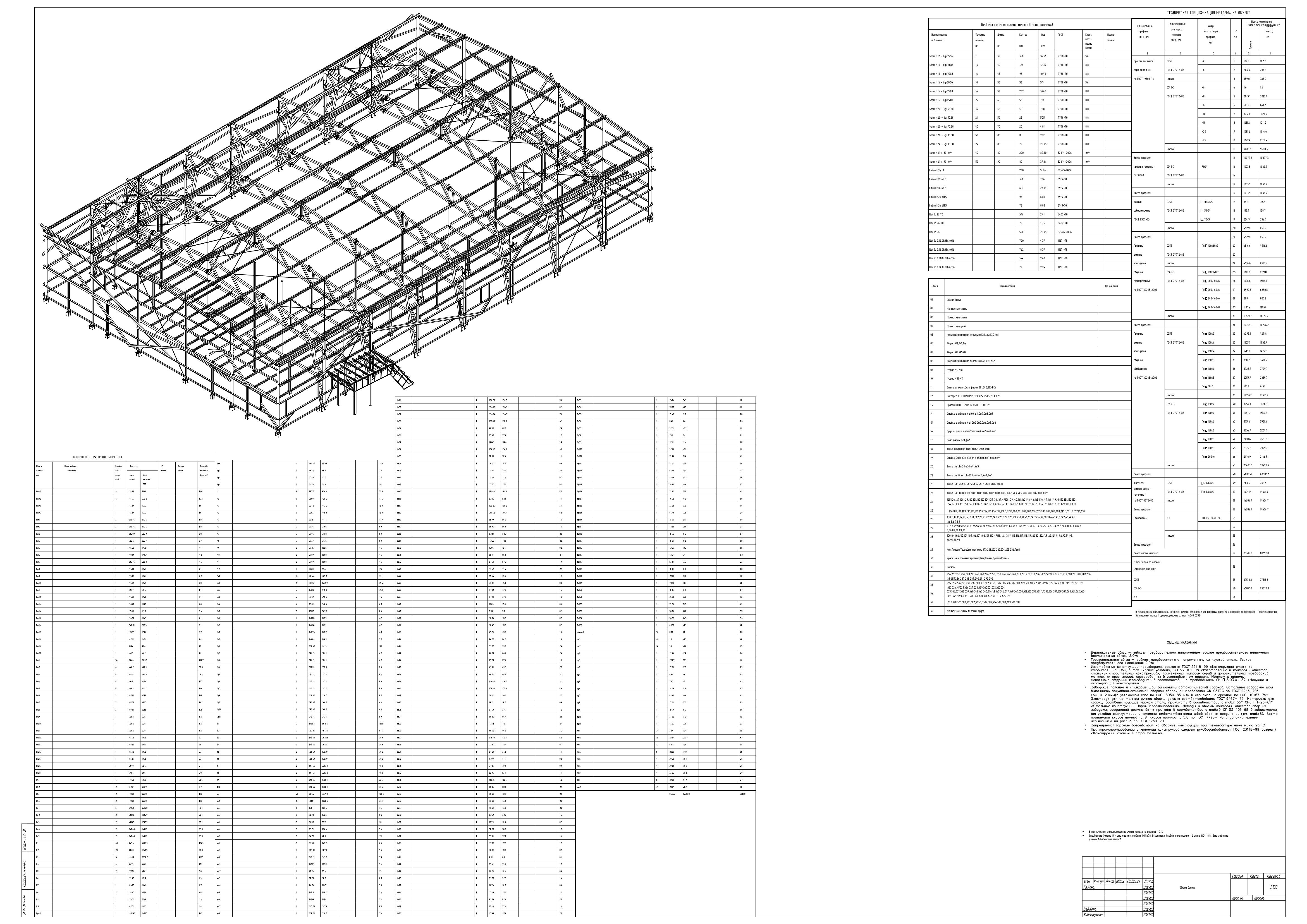 Проектирование КМД - Ведомости элементов